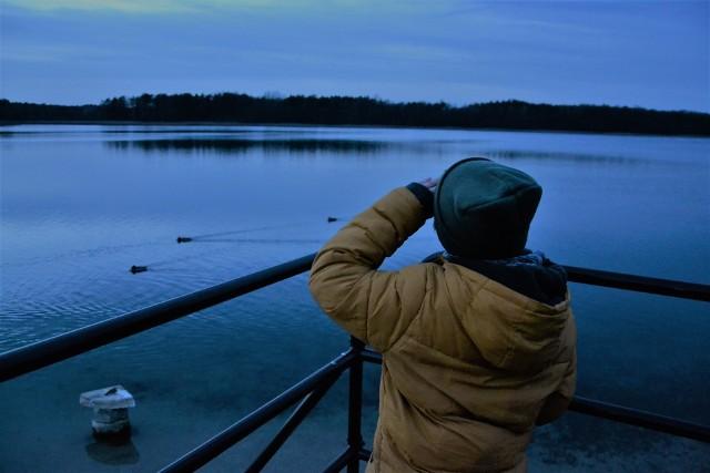 Głębokie to idealne miejsce na... zimowy, wieczorny spacer!