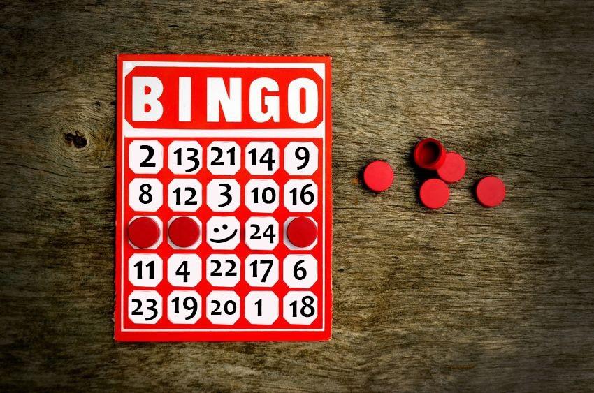 Proste, domowe Bingo...
