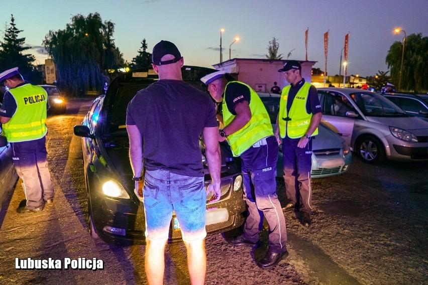 Policjanci w porę przerwali przygotowania do nocnych...