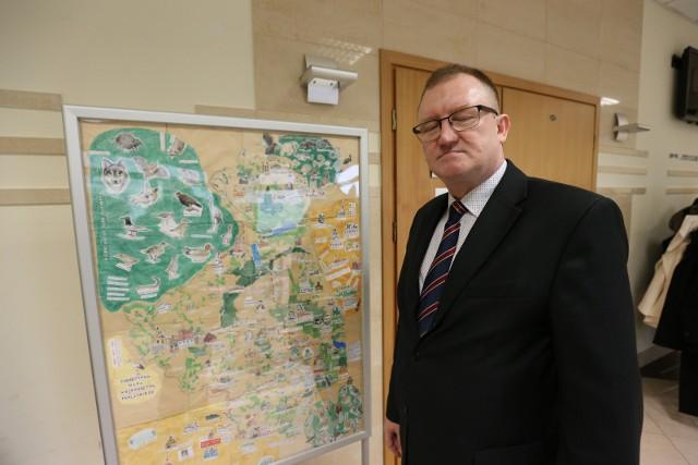 Andrzej Stepaniuk, dyrektor II LO z BJN w Bielsku Podlaskim - jednej z najlepszych szkół w województwie