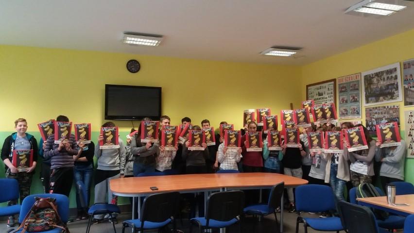 Uczniowe z Zespoły Szkół w Witoszynie