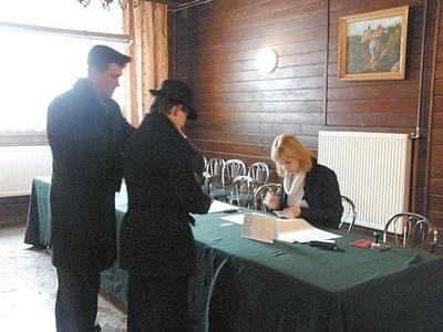 Do urn poszło ponad 1400 mieszkańców Fot. Magdalena Uchto