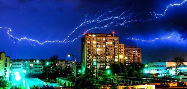 Gdzie jest burza? Mapa burzowa online [RADAR LIVE, BURZA ONLINE - 30 kwietnia 2018]