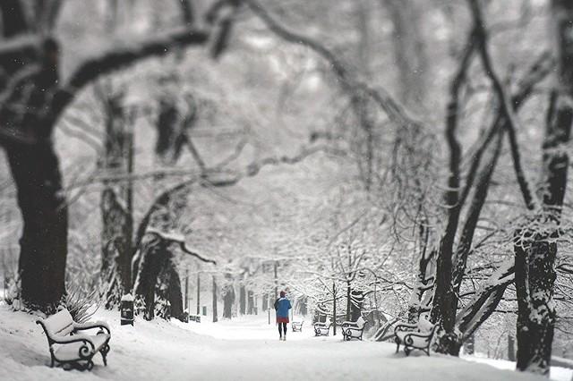 Zima w Krakowie i Małopolsce 2015. Śnieg na zdjęciach użytkowników