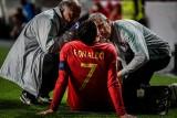 Cristiano Ronaldo kontuzjowany w meczu z Serbią. Gracz Juventusu zdąży na Ajax? [WIDEO]
