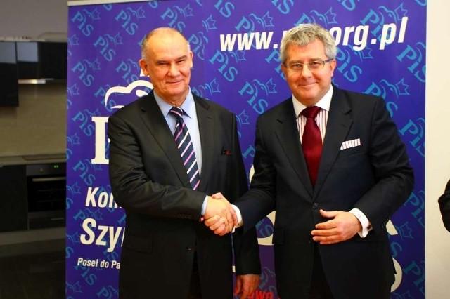 Dziuba i Czarnecki, czyli mocny tandem PiS do Parlamentu Europejskiego