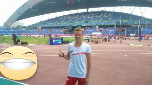 Joanna Linkiewicz, podwójna mistrzyni Uniwersjady w Gwangju (400 metrów oraz sztafeta 4x400 metrów), brązowa medalistka HME z Pragi w sztafecie 4x400 metrów.