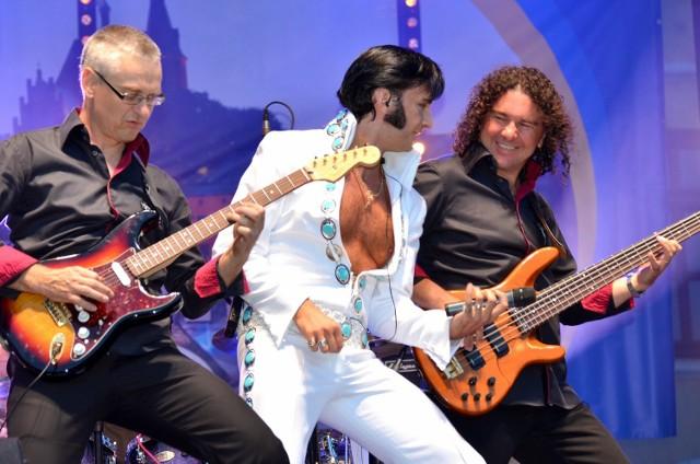 Podczas Poznańskiego Dnia z Elvisem Presleyem usłyszymy Piotra Skowrońskiego i grupę The King's Friends.