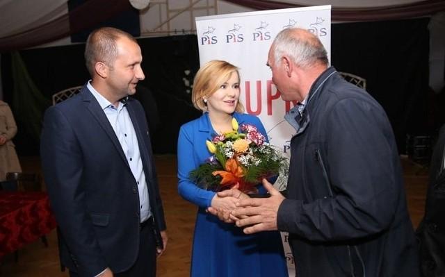 Spotkanie wiceminister Anny Krupki z mieszkańcami Osieka.