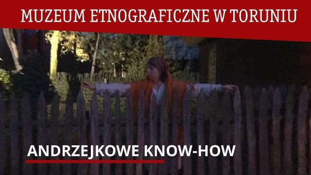 """Kadr z filmu """"Andrzejkowe know-how"""""""