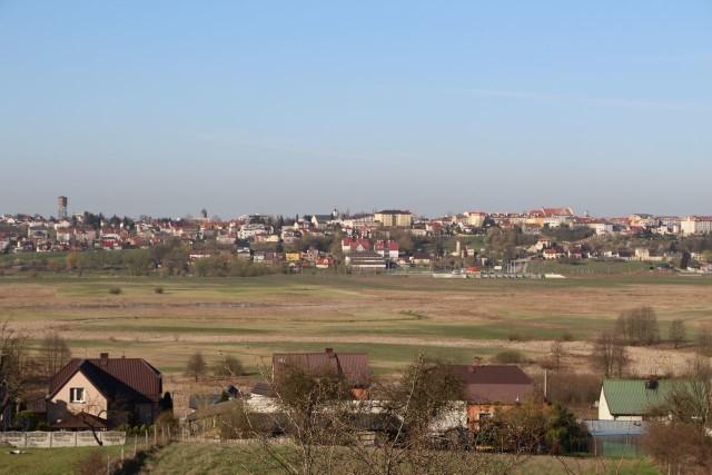 Panorama Łomży.