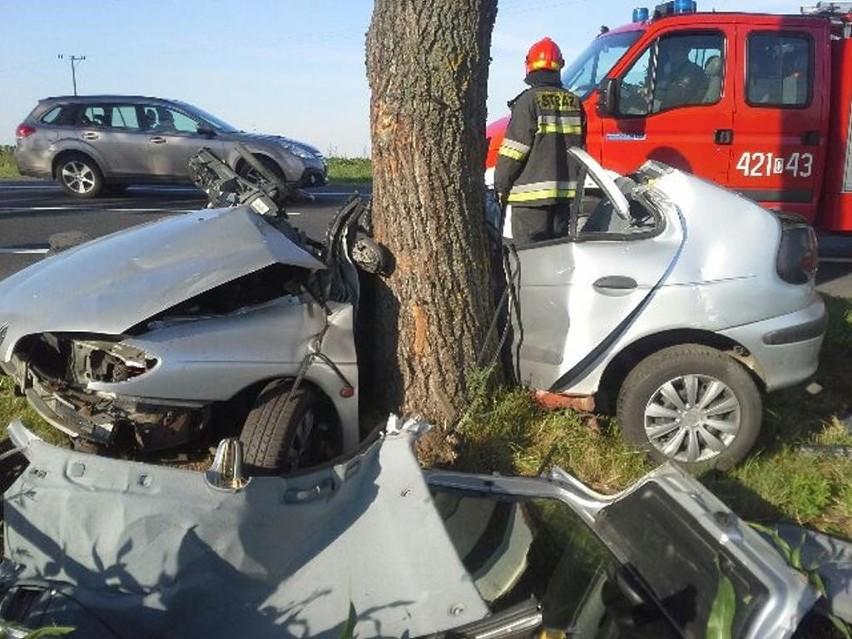 Tragiczny wypadek w Grubnie.