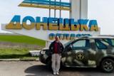 Tomek Lendo w obwodzie donieckim (ZDJĘCIA)