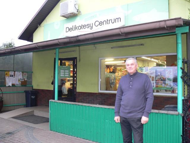 Delikatesy Centrum w Wysiadłowie prowadzi Ryszard Kwiatkowski. Właściciel  jest zaskoczony tak dużą liczbą głosów, jakie jego sklep otrzymał podczas głosowania w akcji Mistrzowie Handlu.