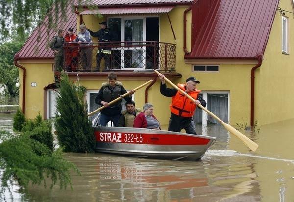 Wysokość zasiłków dla powodzian uzależniona jest od powierzchni zniszczonego domu lub mieszkania.