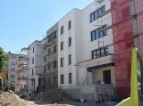 Budowa bloków w Szydłowcu. Niebawem inwestycja będzie gotowa (ZDJĘCIA)