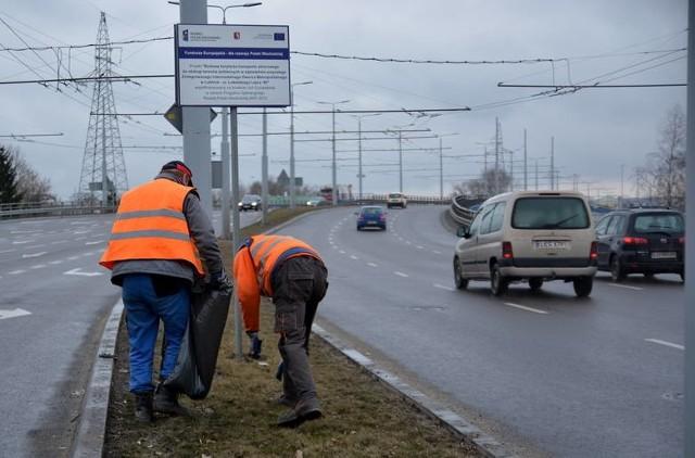 Pozimowe porządki na drogach rozpoczną się w środę i potrwają do końca miesiąca