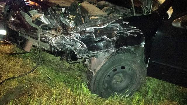 Do groźnego wypadku dzoszło wczoraj po zmierzchu w miejscowości Guty
