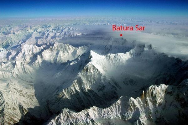 Batura Sar w Karakorum ma 7795 m n.p.m. Jest dwudziestym ósmym szczytem Ziemi pod względem wysokości.
