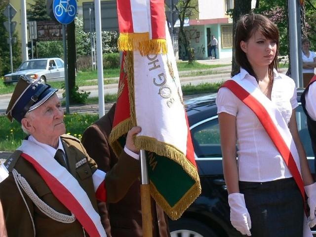 W Skarżysku w Święcie Konstytucji brali udział przedstawiciele najstarszego i najmłodszego pokolenia.