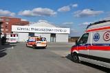 Pierwsi pacjenci trafili do szpitala tymczasowego przy Rakietowej. Kolejna fala zachorowań na koronawirusa nabiera tempa