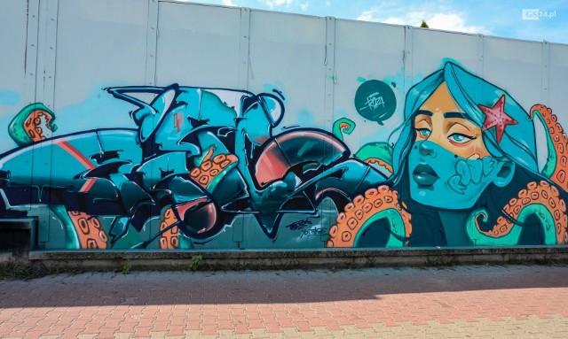 Murale na ulicy Taczaka w Szczecinie