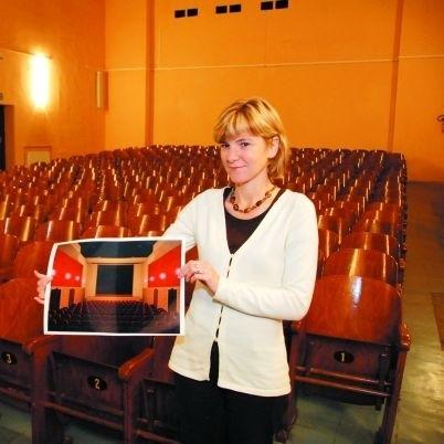 Nowa sala kinowa będzie bardzo nowoczesna - cieszy się Małgorzata Sałęga, dyrektor Miejskiego Ośrodka Kultury w Wysokiem Mazowieckiem