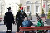 Niebiesko–zielone patrole na terenie całego województwa. Policja i Żandarmeria wspólnie przeciwko rozprzestrzenianiu się wirusa