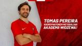 Portugalski trener piłkarski zasilił Akademię Widzewa