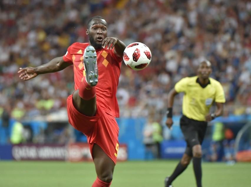 Romelu Lukaku  strzelił dla Belgii na mundialu w Rosji już 4 bramki.