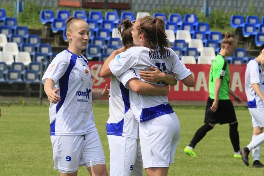 Często oglądaliśmy w tym sezonie radość piłkarek nożnych UKS SMS Łódź