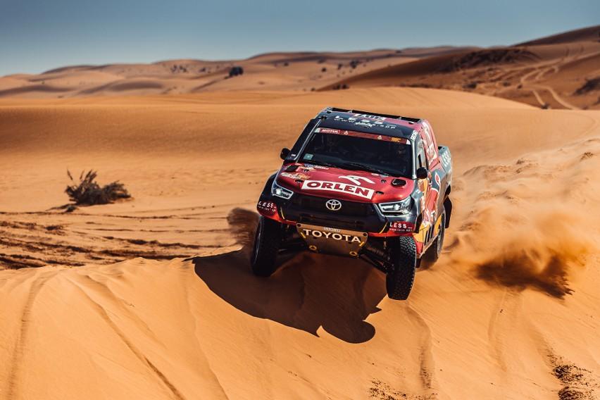 Drugą połówkę Rajdu Dakar Polacy zaczęli spokojnie i bez...