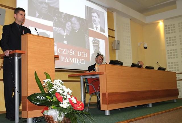 Dariusz Piontkowski chciał uchylenia decyzji radnych o likwidacji pediatrii. Poparcia nie dostał.
