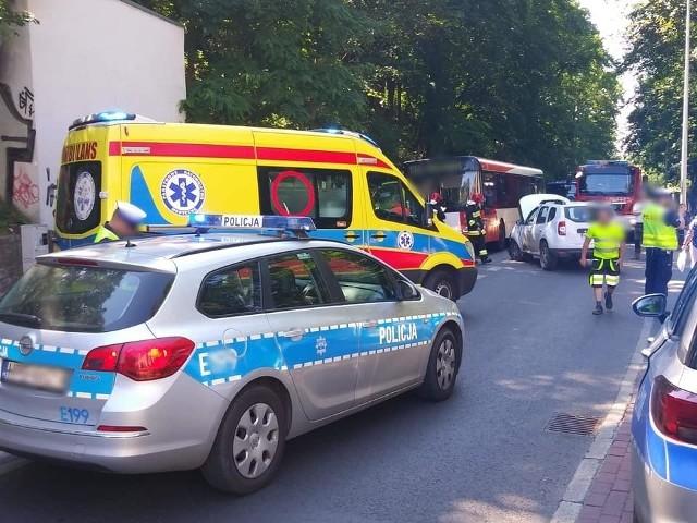 Ul. Walczaka jest najniebezpieczniejszą ulicą w Gorzowie. Do jednego z dziewięciu wypadków w 2019 r. doszło tu m.in. w czerwcu.