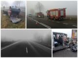 Gęsta mgła w Białymstoku i Podlaskiem. Trudne warunki na drogach i ograniczona widoczność (19.12.2019)