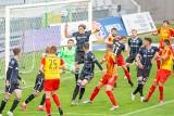 Lech Poznań wygrywa mecz z Koroną Kielce 3:0. Hat-trick Gytkjaera. Kolejorz wykonał zadanie