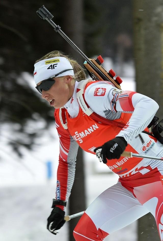 Znana Wam Krystyna Pałka to już dziś Krystyna Guzik, po tym jak latem poślubiła biathlonistę Grzegorza Guzika.