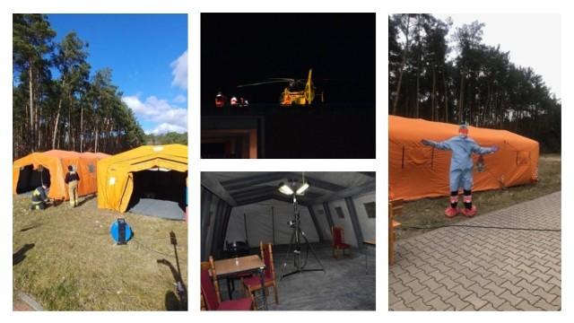 Rok o temu w weekend 14-15 marca 2020 roku trwała ewakuacja chorych ze szpitala w Grudziądzu do innych placówek medycznych. Szpital w Grudziądzu został przekształcony w zakaźny dla całego Kujawsko-Pomorskiego. Jak to wyglądało? Przypominamy na zdjęciach galerii.