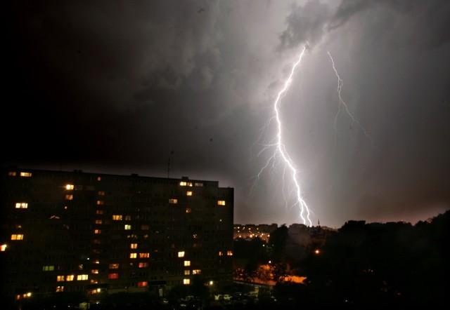 IMGW prawdopodobieństwo wystąpienia burz i opadów w naszym województwie szacuje na 80 proc.