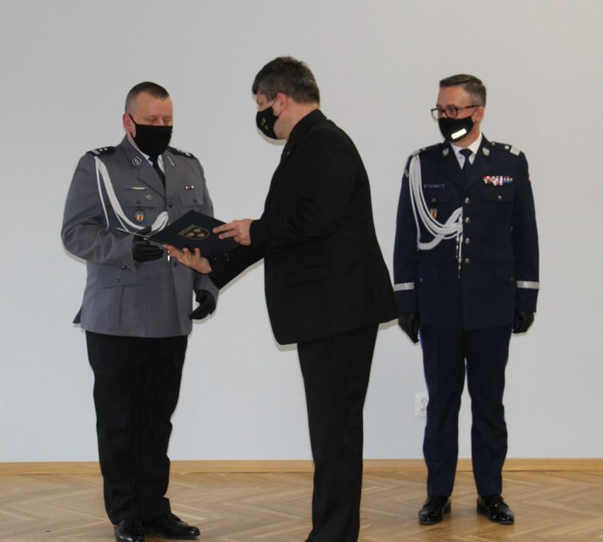 Pabianiccy policjanci mają nowego komendanta ZDJĘCIA