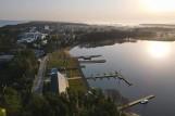 Wiosna nad jeziorem Bukowo w Uzdrowisku Dąbki [zdjęcia]