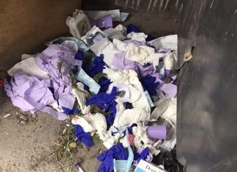 Funkcjonariusze SM wszczęli już postępowanie wyjaśniające, mają również wytypowany gabinet lekarski, z którego mogły pochodzić odpady.