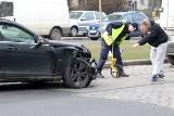 Wypadek na Grabiszyńskiej. Obaj mieli zielone światło