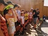 Rzekuń. Rajd rowerowy przez gminę Rzekuń. Imprezę zorganizowała Gminna Biblioteka Publiczna w Rzekuniu. 20.06.2021. Zdjęcia