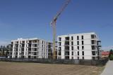 Budowa kolejnych budynków na Osiedlu Glivia w Gliwicach idzie pełną parą. Zobaczcie najnowsze zdjęcia