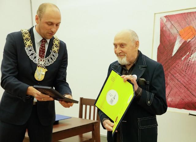 - To dla mnie bardzo duże wyróżnienie, nie spodziewałem się - mówi Jerzy Beski.