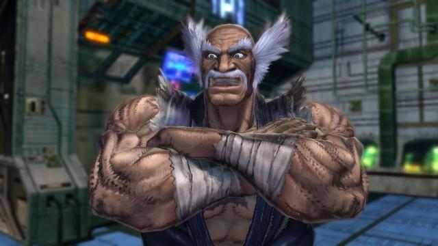 Street Fighter X TekkenHeihachi, jeden z zawodników w Street Fighter X Tekken