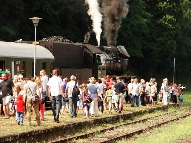 Na paradę lokomotyw do Międzychodu przyjechał tum mieszkańców lubusko-wielkopolskiego pogranicza.