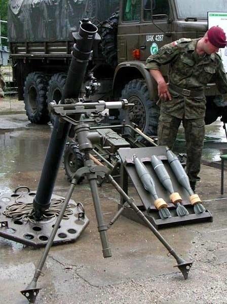 """Takie """"dziewięćdziesiątki ósemki"""" będą razić ogniem partyzantów w Afganistanie."""