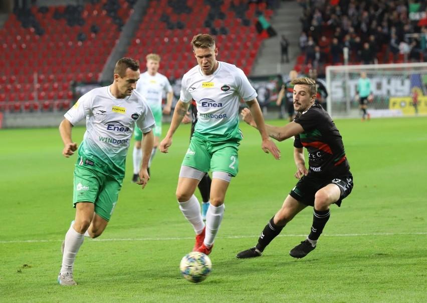 Odra Opole - Radomiak Radom 1:1 (1:0).